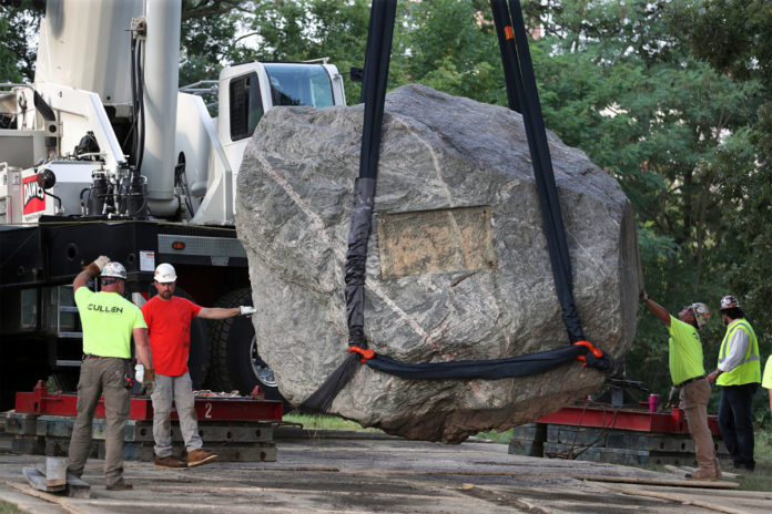University of Wisconsin moves Chamberlin Rock, seen as symbol of racism