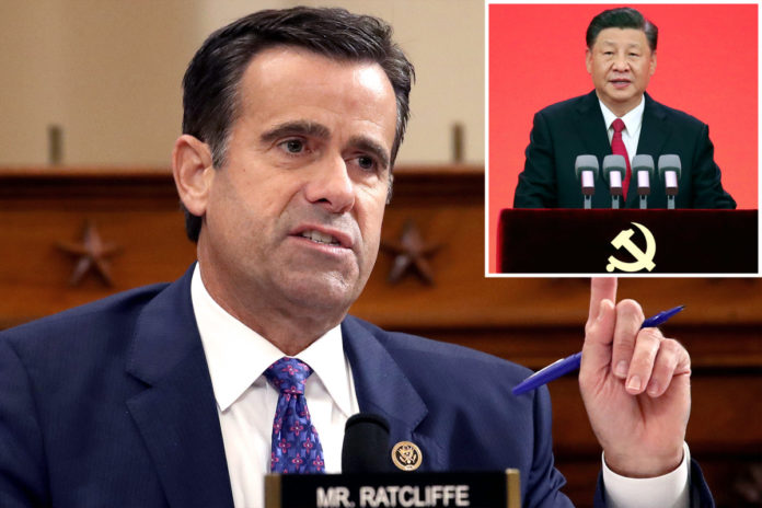 Ratcliffe calls on IOC to move 2022 Winter Games out of Beijing
