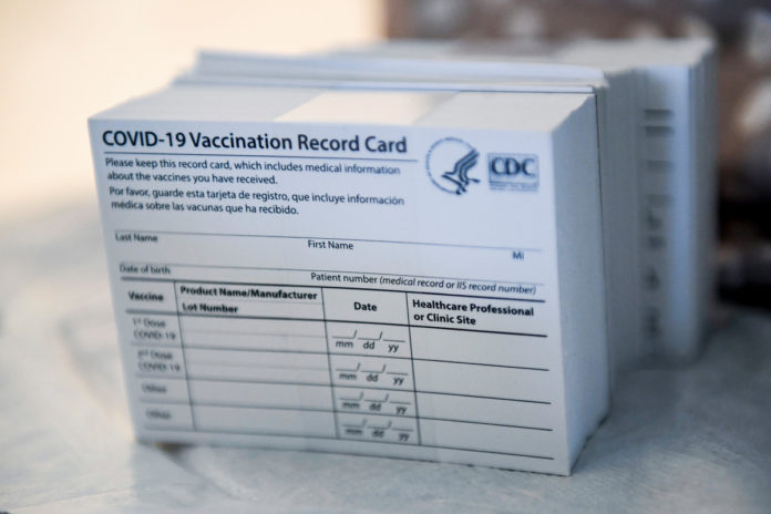 Lost your vaccine card? Here's what you need to do