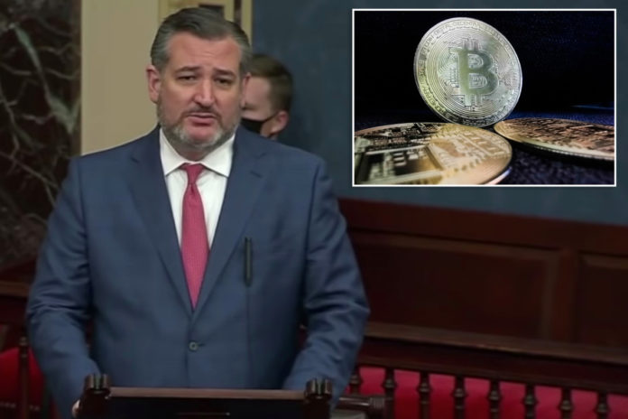 Ted Cruz says Senate will harm cryptocurrency industry with regulations