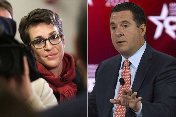 Rep Nunes sues MSNBC after Rachel Maddow allegedly smeared him