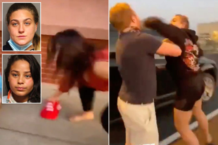 Women plead guilty to hate crime for attacking Trump supporters