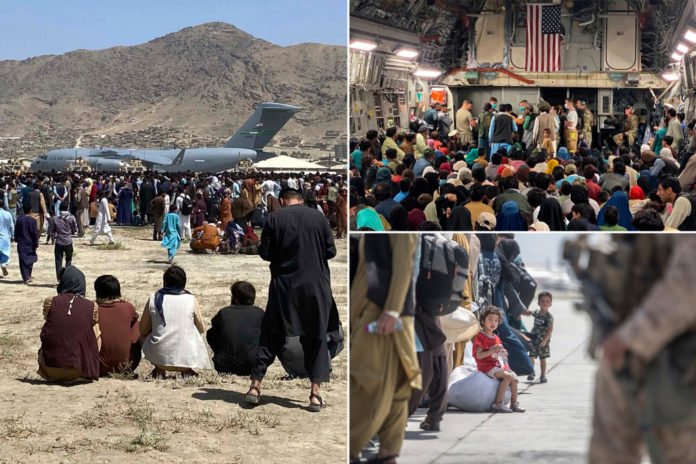 Over 122K people have been evacuated from Afghanistan
