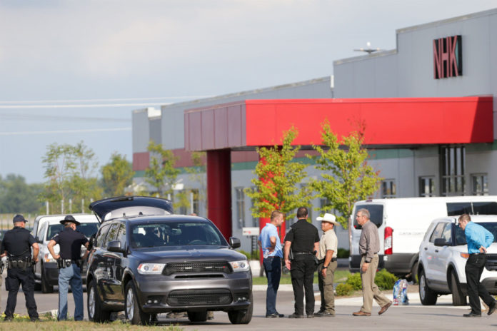 Indiana factory shooting leaves 2 women dead