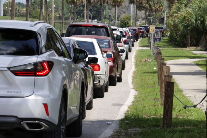 Florida sees long lines for COVID-19 testing amid surge in cases