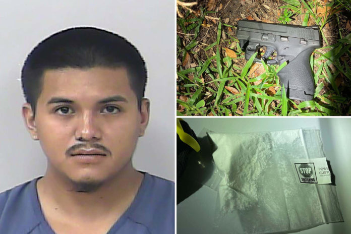 Man busted with cocaine, gun while riding go-kart in Florida