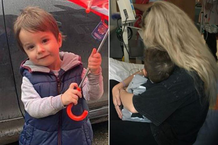 UK mom shares 3-year-old's heartbreaking Stage 4 cancer diagnosis