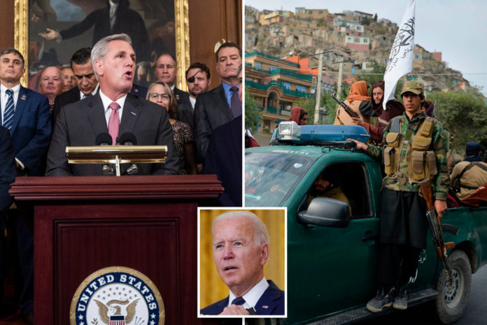 GOP lawmakers plead with Biden to continue Afghan evacuation