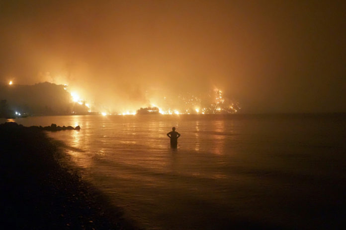 Europe, Middle East send firefighters, aircraft as wildfires ravage Greece