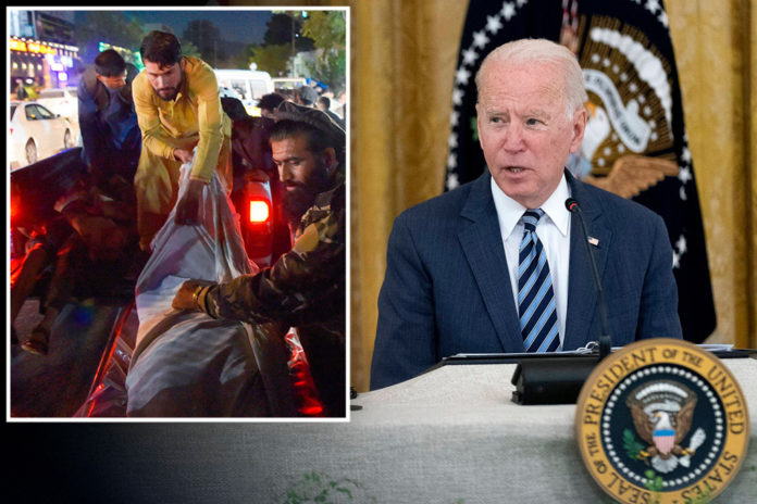 Biden remains out of public view as attacks mar Afghanistan evacuation