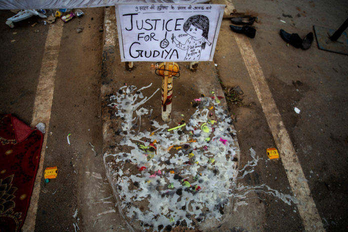 4 men charged in rape and murder of 9-year-old girl in India