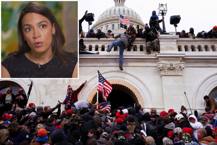 AOC feared she would be raped during Capitol siege
