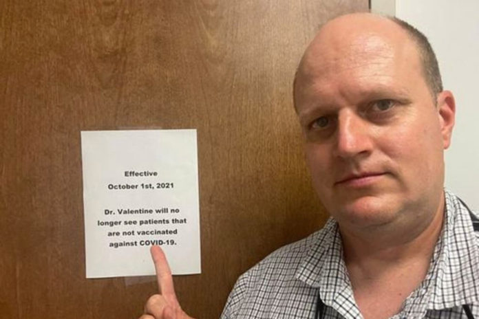 Alabama doc refuses to treat unvaccinated patients