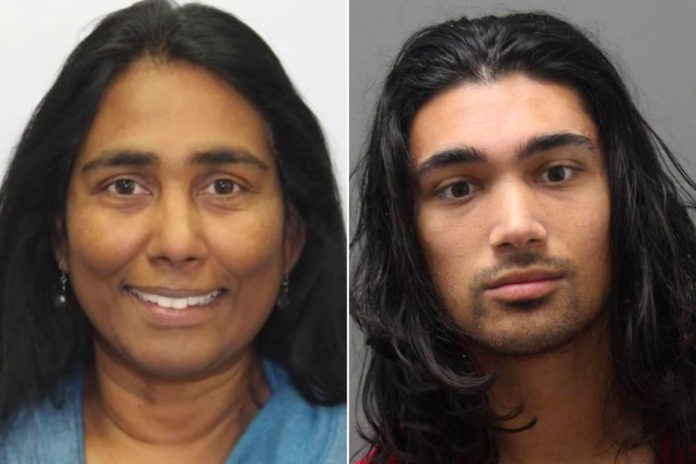 Son of cybersecurity exec Juanita Koilpillai charged with her murder