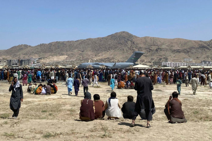 Taliban seizing Afghan-American's US passports outside airport