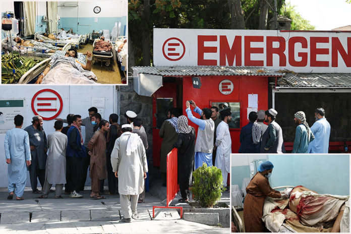 Where Kabul airport attack victims went for lifesaving treatment