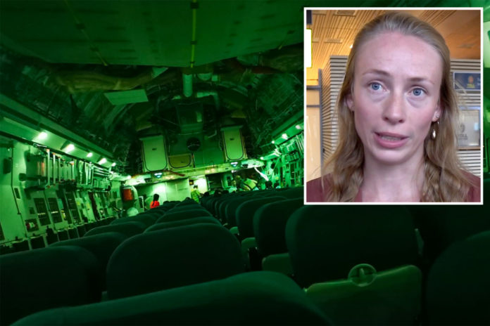 Norwegian woman rescued on almost empty mercy plane says Afghan mom had begged her to take her baby
