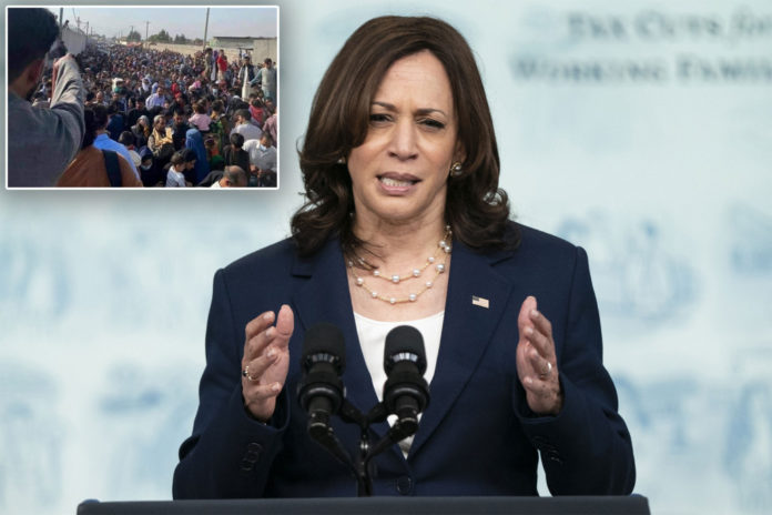 Kamala Harris tanking in poll as she goes to ground on Afghan withdrawal