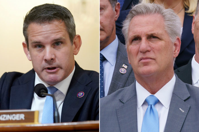 Kinzinger supports issuing Jan. 6 subpoenas to McCarthy, others