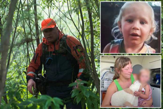 Russian baby survives three nights in forest alone