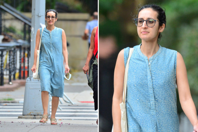Daughter of exiled Afghan President Ghani seen on NYC stroll