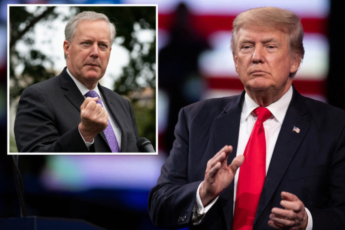 Trump looking to 'move forward' after meeting with 'cabinet': Meadows