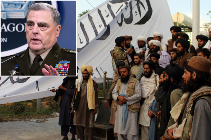 Milley moves up terror threat after Taliban gains in Afghanistan