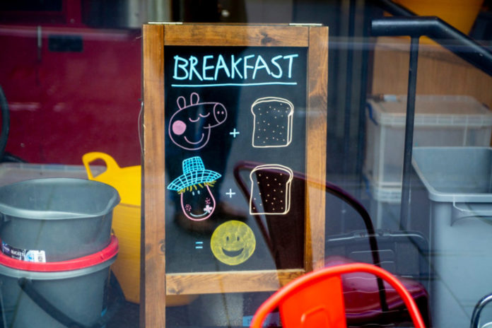 Cafe sparks outrage with sign featuring 'Peppa Pig' cartoon