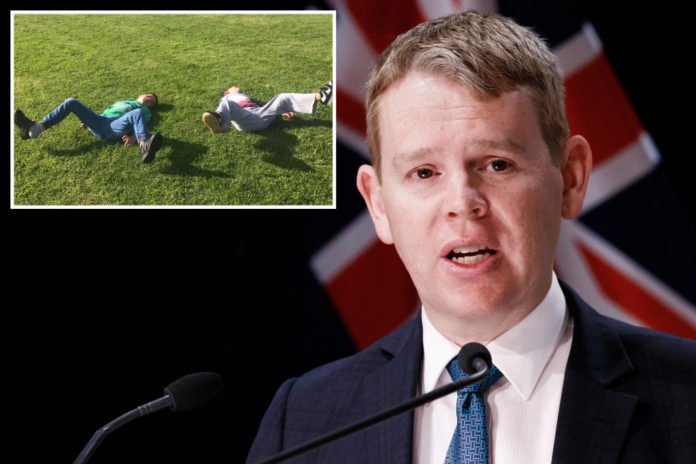 New Zealand COVID-19 minister's gaffe goes viral
