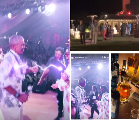 DJ posts pics of Obama's birthday party before being forced to delete them