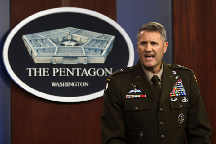 Pentagon can't say if plans to keep US weapons out of Taliban
