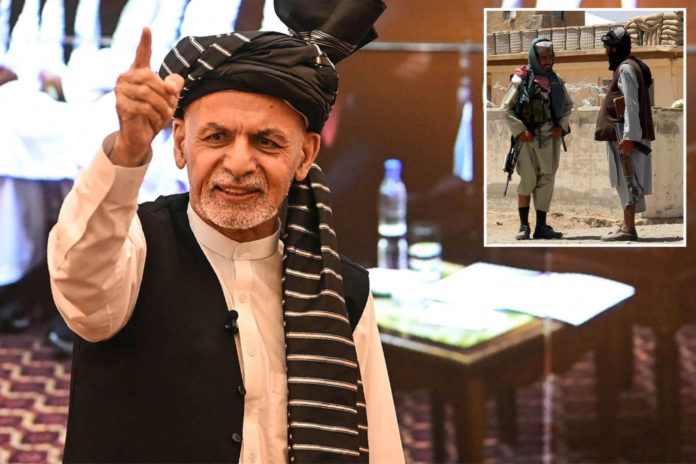 Afghan president resists Taliban pressure to resign as allies wither