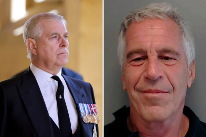Prince Andrew still person of interest in sex-trafficking probe: report
