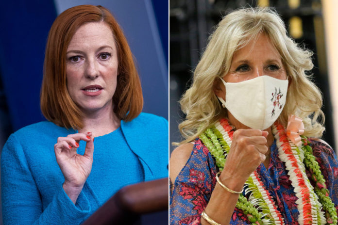 Psaki dodges when asked about claims of 'abusive' Jill Biden staffer Anthony Bernal