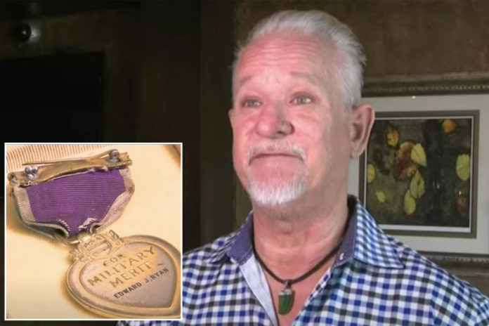 Purple Heart returned to family 76 years after soldier's death