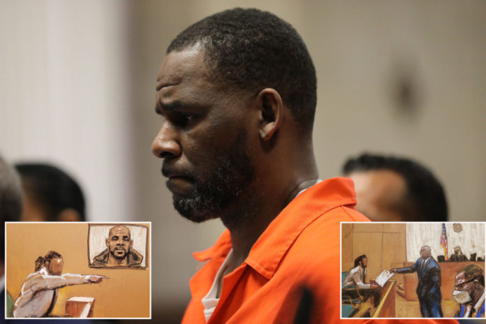 R. Kelly summoned girl from under boxing ring by snapping fingers: witness