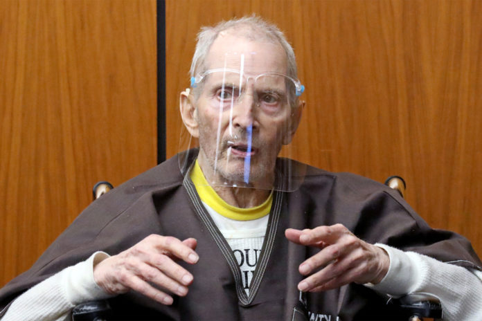 Robert Durst admits to writing note leading cops to body