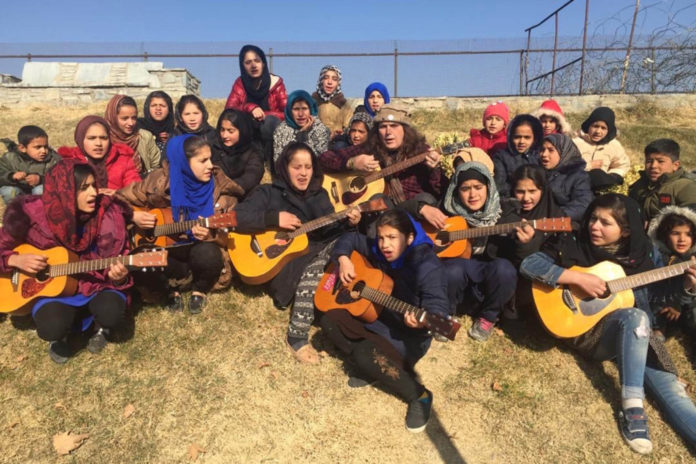 American desperate to rescue 'School of Rock' girls from Afghanistan