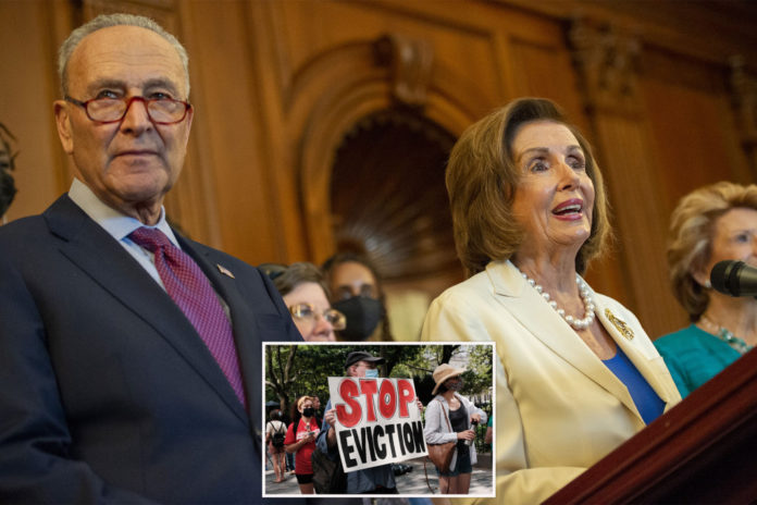 'Squad' members call Schumer, Pelosi to pass eviction freeze