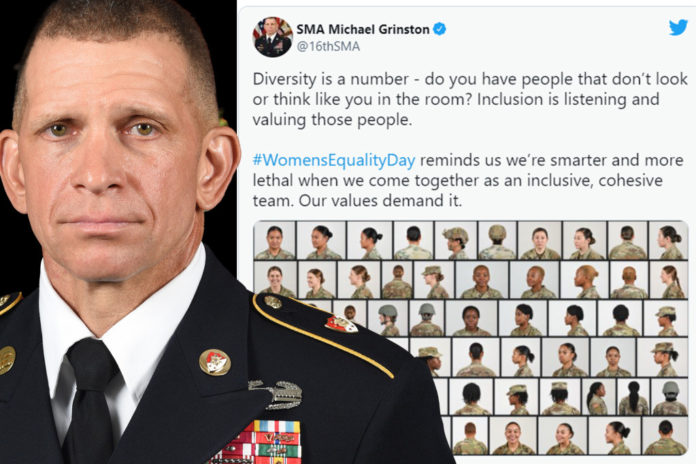 Army's top enlisted member slammed for diversity message amid Kabul attack