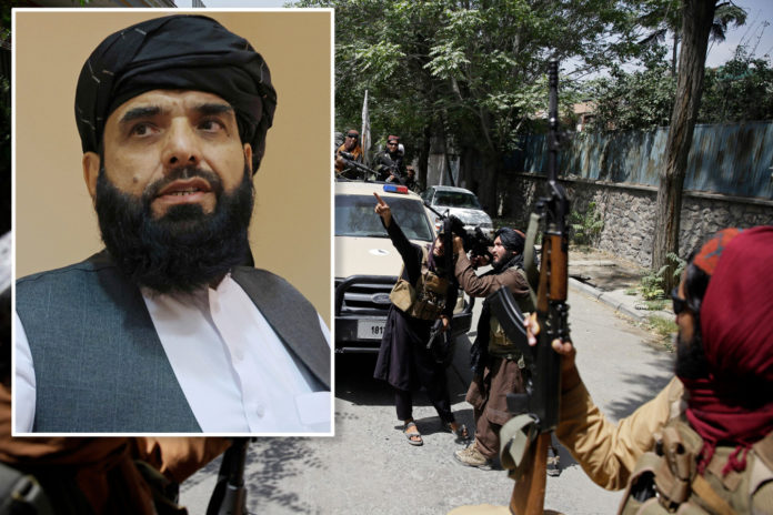 Taliban warns Aug. 31 is a 'red line' for withdrawing US forces