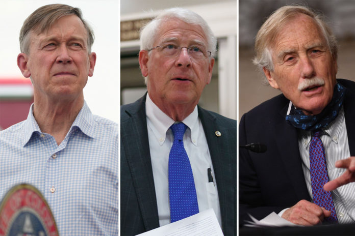 Vaxxed Sens. King, Wicker and Hickenlooper test positive for COVID