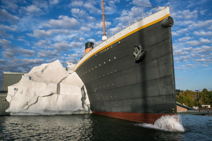 Titanic museum visitors hurt in Tennessee after wall collapses