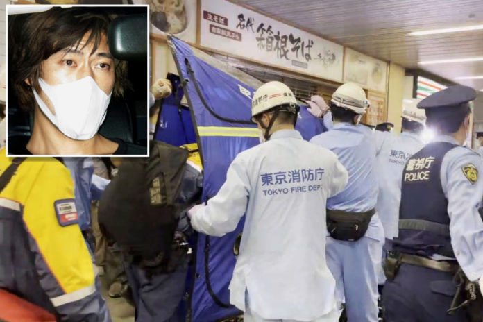 Tokyo stabber told cops he attacked express train to maximize carnage