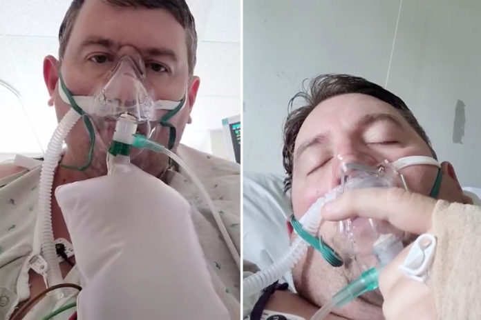 Virginia man Travis Campbell urges anti-vaxxers to get COVID shots