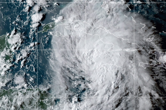 Tropical Storm Ida prompts hurricane warning for New Orleans