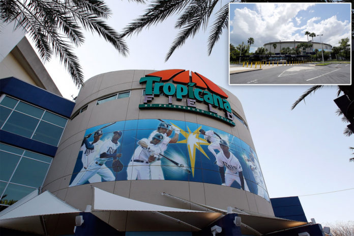 Tropicana Field has three potential graves under parking lot