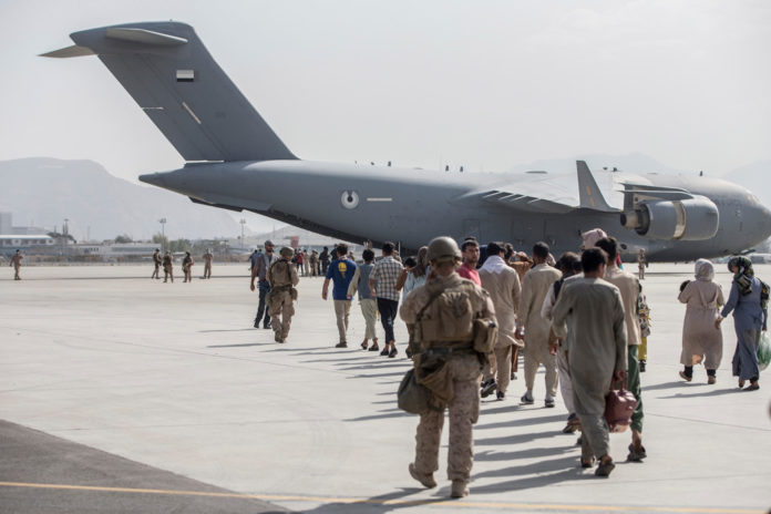 US military jets to land in Kabul as 20K remain at airport