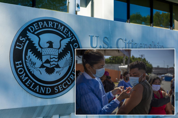 DHS to reportedly offer COVID vaccines to migrants in custody