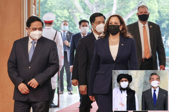 Kamala Harris slams China as Communist Party for inroads with Taliban